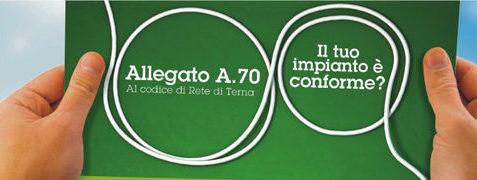 Adeguamento A70 TERNA